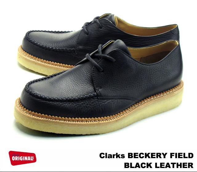 クラークス ベッカリーフィールド ブラック CLARKS BECKERY FIELD BOOT 26110040 BLACK MENS メンズ 【送料無料!】 【US規格】