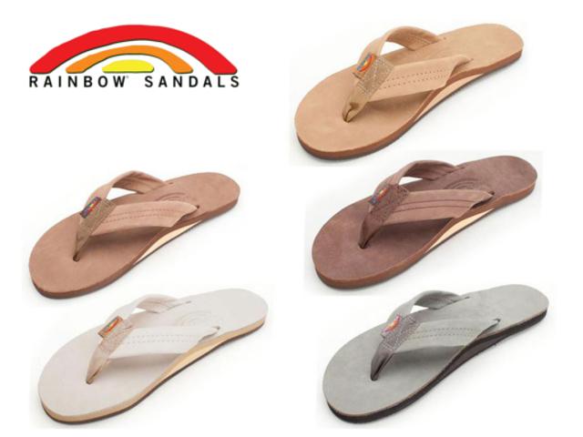 42e9325b002 All five colors of rainbow sandals men RAINBOW SANDALS single mid sole  premium 301ALTS-PL leather sandals SANDAL men tong