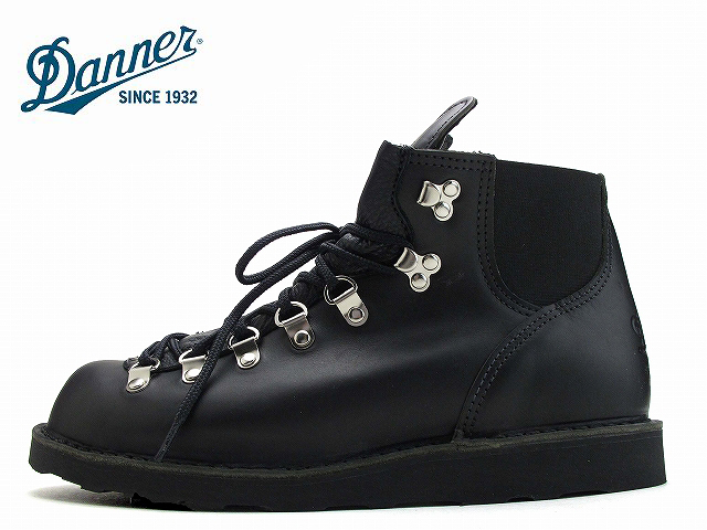ダナー バーティゴ ブーツ DANNER VERTIGO BLACK GLACE 32707 ブラック グレイス【送料無料!】海外輸入品 サイドゴア アウトドア