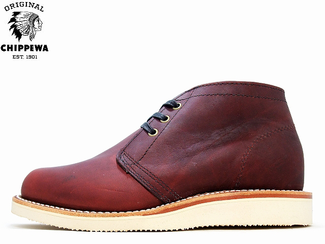 チペワ ブーツ チャッカブーツ バーガンディ CHIPPEWA SUBURBUN RUGGED CHUKKA BOOTS BURGUNDY 4025 メンズ mens boots
