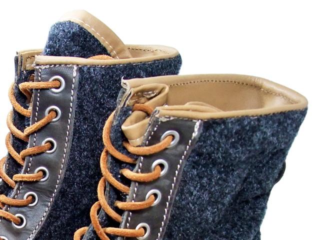 "COXX BORBA 考克斯 Borba 作系带的靴子""mcclepona""603.01 灰色灰色 / 灰色制造在葡萄牙 / 葡萄牙 / 高帮靴 [MCREPONA]"