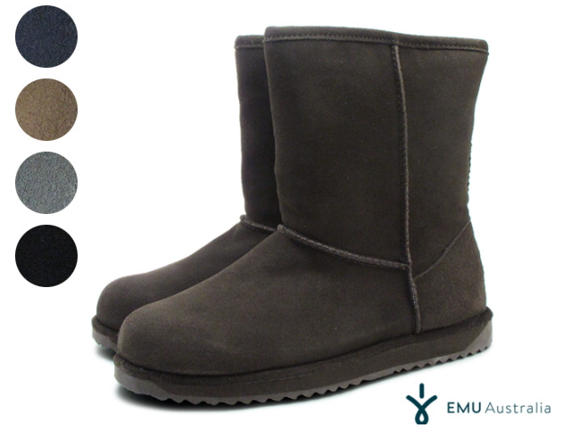 24ce65dde0e Emu mouton boots Lady's Patterson low emu PATERSON LO WATERPROOF W10771  シープスキンエミュ waterproofing