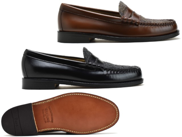 5a5fd9c5db6e Bus loafer Larson G.H BASS LARSON PENNY LOAFER mid brown wine penny penny  loafers MENS men