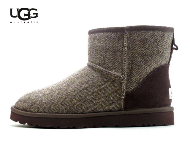 ec52c6c36 アグメンズ UGG mouton boots classical music mini-tweed UGG AUSTRALIA CLASSIC  MINI TWEED 1005559 stout ...