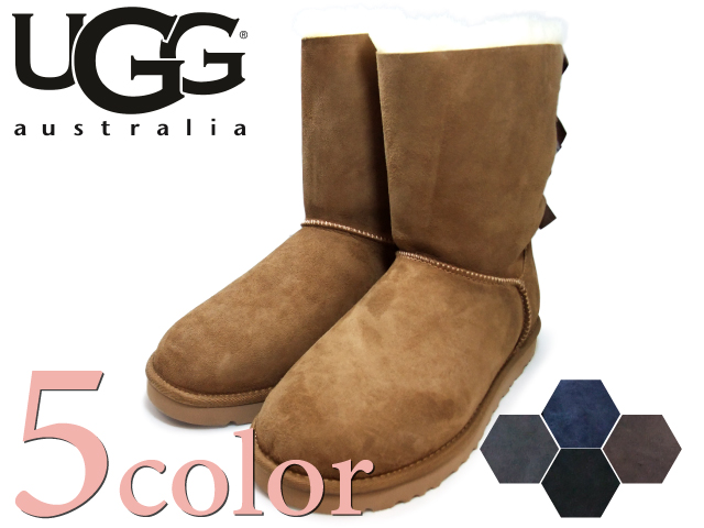 UGG ugg boots Bailey bow UGG AUSTRALIA W BAILEY BOW 1002954 5 colors women's boots 2015 fall overseas genuine