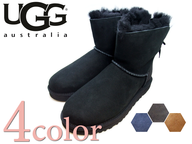 UGG ugg boots mini Bailey bow UGG AUSTRALIA W MINI BAILEY BOW 1005062 5 colors women's boots 2015 winter new overseas genuine