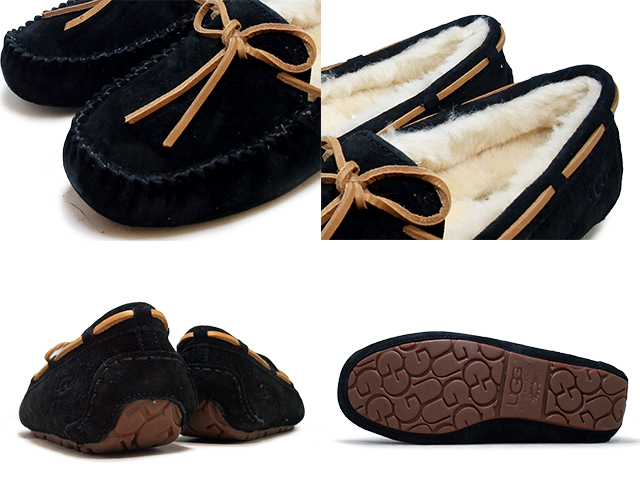UGG moccasins Dakota AG slip-on MOCCASIN DAKOTA 5612 all 6 color BLK ESP CHES JSTRED PWTR TOBACCO ladies Shearling Sheepskin 2015 fall/winter new