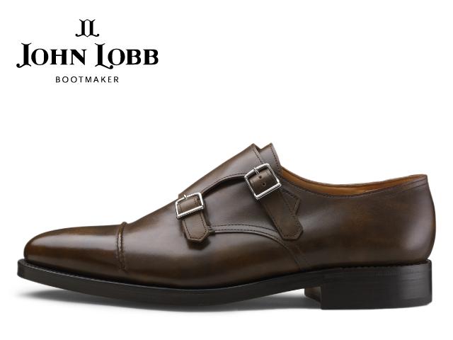 ジョンロブ ウィリアム2 JHON LOBB WILLIAM II ダブルモンクストラップ パリジャンブラウン メンズ ビジネス ドレス