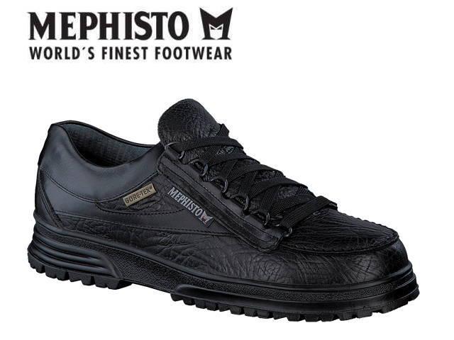 メフィスト 靴 フレイク MEPHISTO BREAK GTX MAMOUTH BLACK コンフォート ウォーキング ゴアテックッス 防水 メンズ