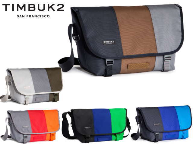 Timbuk2 Classic Tres Colores Messenger Bag Clothing, Shoes