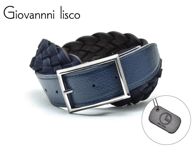 メンズ ベルト 革 ブランド 送料無料カード決済可能 売れ筋 カジュアル ビジネス ロング リスコ Giovannni 1202-1 ジョバンニ lisco イタリア製