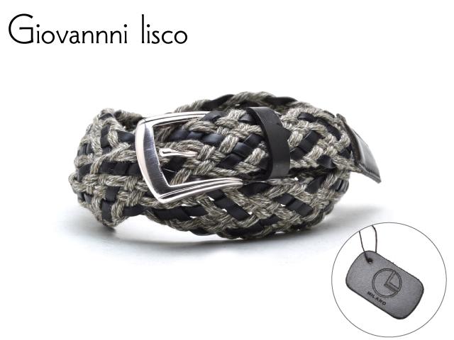 メンズ ベルト 革 ブランド オンライン限定商品 カジュアル ビジネス ロング Giovannni lisco イタリア製 リスコ 大幅値下げランキング ジョバンニ 1204-1