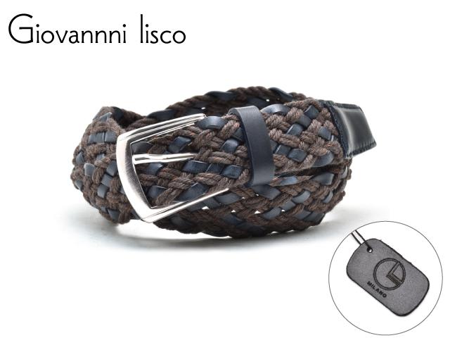 メンズ ベルト 革 ブランド 公式サイト カジュアル ビジネス ロング 有名な 1204-2 lisco ジョバンニ リスコ Giovannni イタリア製