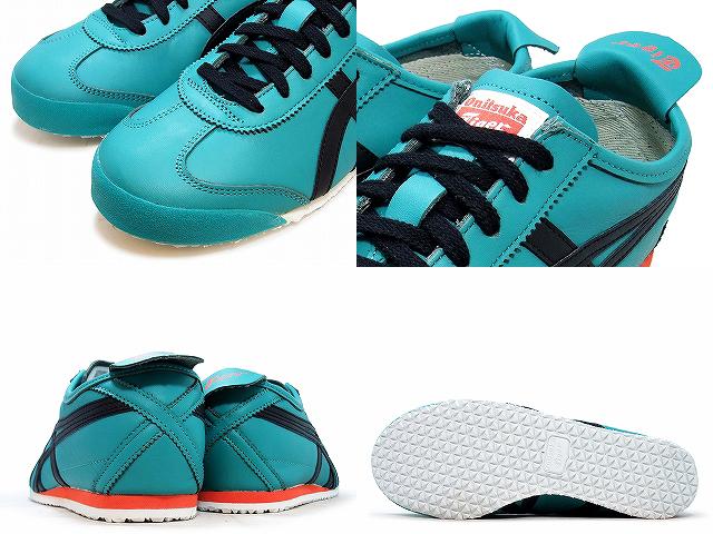 Onitsuka Tiger Mexico 66 Sports Shoes Men Onitsuka Tiger MEXICO 66 D4J2L.7890 tropical green black TROPICALGREEN BLACK Sneaker