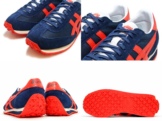 Onitsuka Tiger EDR 78 D503N.5030 navy blue / red NAVY / RED casual shoes  men's sneakers