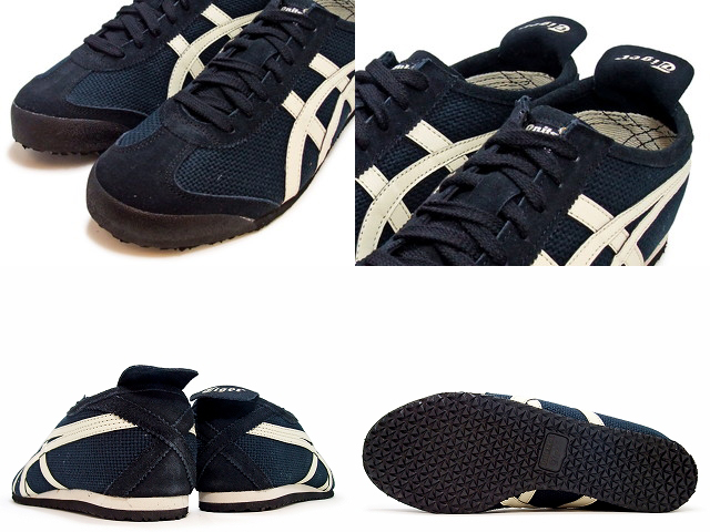 on sale 24465 113ee Onitsuka Tiger Mexico 66 Sports Shoes Men Onitsuka Tiger MEXICO 66  D509N.9002 BLACK / OFFWHITE black / offwhite sneaker