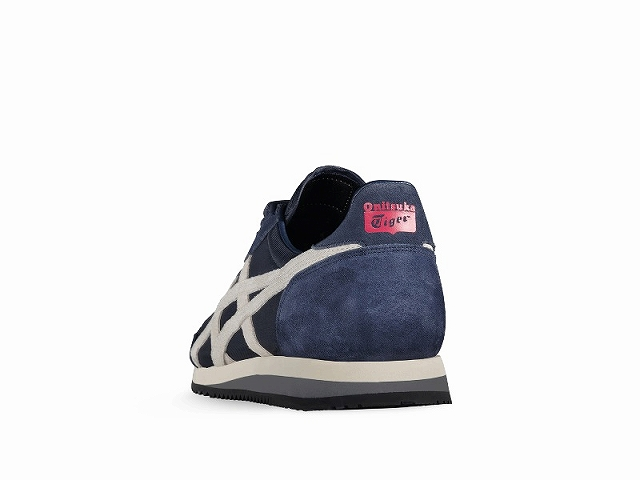Onitsuka Tiger dually o sneakers mens Onitsuka Tiger DUALIO D600N.5001 INDIAN INK/WHITE Navy / white sneaker