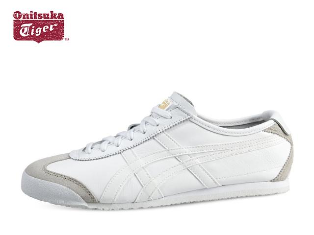 オニツカタイガー メキシコ66 スニーカー メンズ Onitsuka Tiger MEXICO 66 0101 WHITE/WHITE ホワイト/ホワイト sneaker【あす楽対応】【店頭受取対応商品】