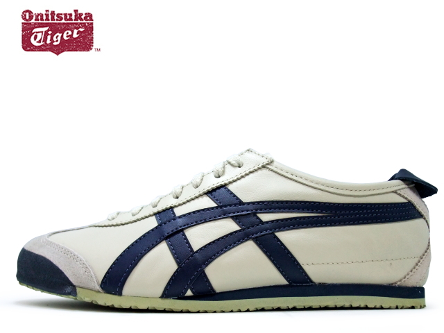 hot sale online 21038 6e82f Onitsuka tiger Mexico 66 sneakers men Onitsuka Tiger MEXICO 66 1659  BIRCH/INDIAN white / navy sneaker