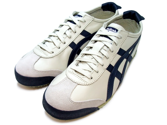 hot sale online b14e2 0f067 Onitsuka tiger Mexico 66 sneakers men Onitsuka Tiger MEXICO 66 1659  BIRCH/INDIAN white / navy sneaker