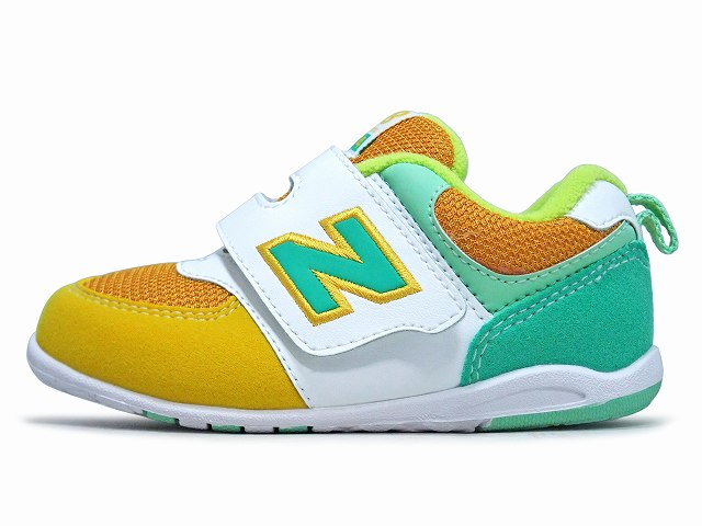 new balance kids yellow