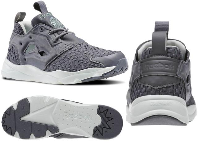 男式女式运动鞋,锐步 FURYLITE 编织 V68869 V70797 V70798 愤怒光锐步