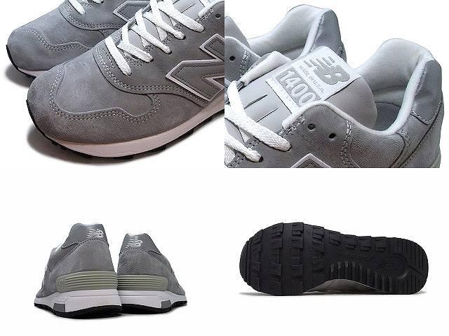 新平衡 1400 灰色 newbalance / 新平衡 m1400 JGY 灰色 / 灰色 D:width 男装女装男装及女装了在美国和在美国制造