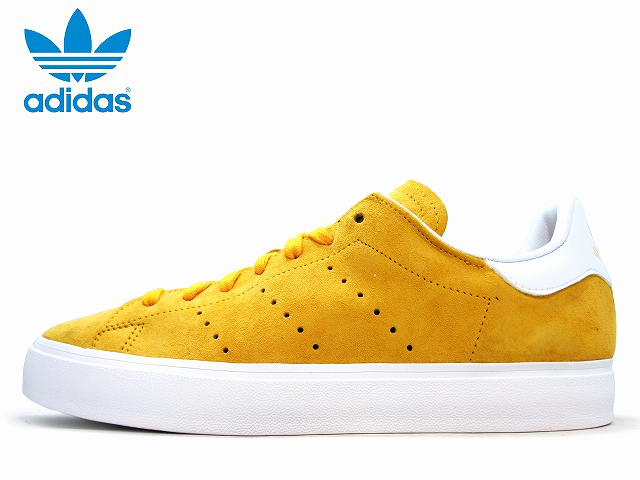 Adidas Stan Smith mens 2015 adidas STAN SMITH VULC M17187 College Gold / running white mens sneakers men's sneaker