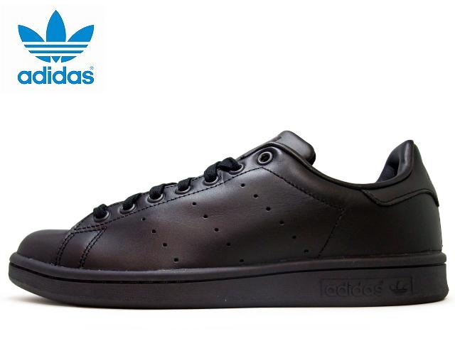 separation shoes f1f1b b5e20 Adidas Stan Smith black mens 2015 adidas STAN SMITH M20327 BLACK/BLACK  leather mens sneakers men's sneaker