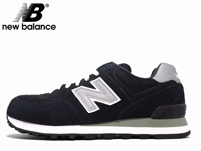 fb25c031d0 New Balance 574 men's newbalance M574 NK black / gray sneakers New Balance  New Balance New Balance
