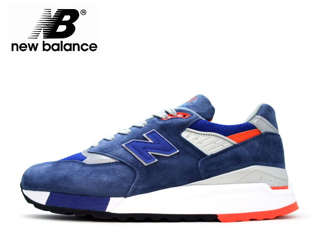 best service 390e8 96233 New Balance 998 newbalance men M998 CSAL navy / orange maden in USA men's  sneaker men sneakers