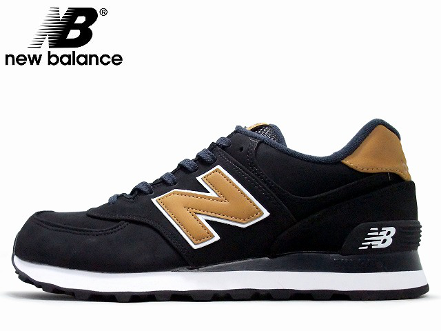 newBalance / new balance ML574 SLA BLACK / TAN black / Tan D:width MENS and mens sneakers