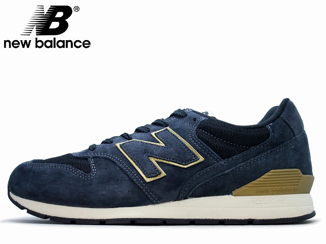 new balance 996 navy gold