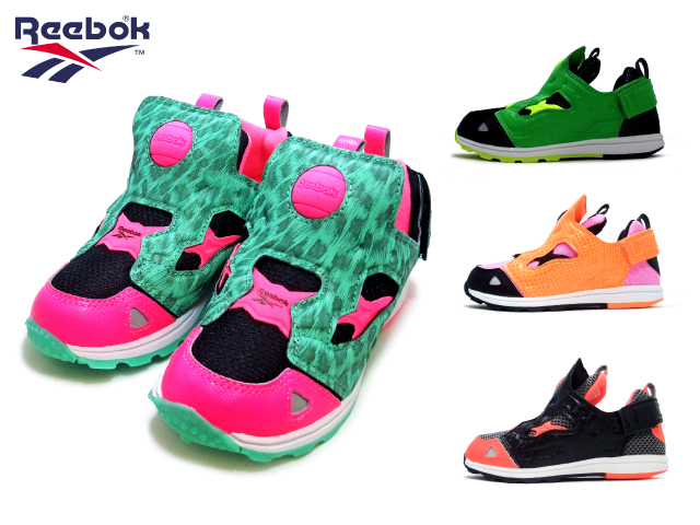 reebok kids footwear