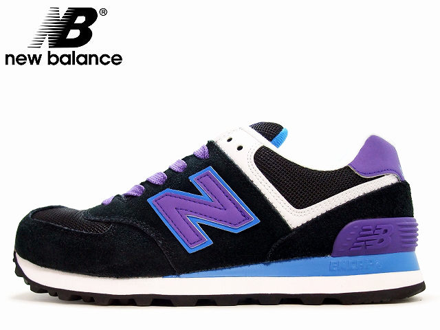 new balance wl574 dark purple