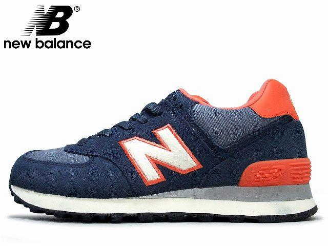 Ny Balanse Wl 574 Pbl Blå Oransje 4pBtRi