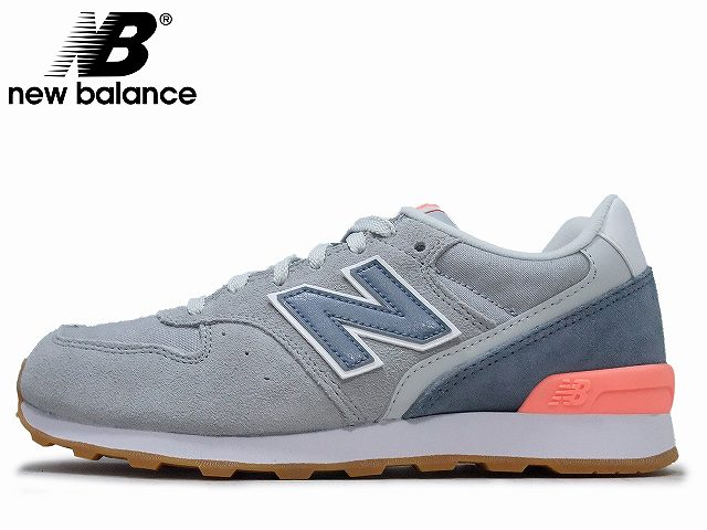 0eaa541fa2 newbalance/ New Balance WL696 MNK GRAY / PINK gray / pink LADIES / Lady's  sneakers NB