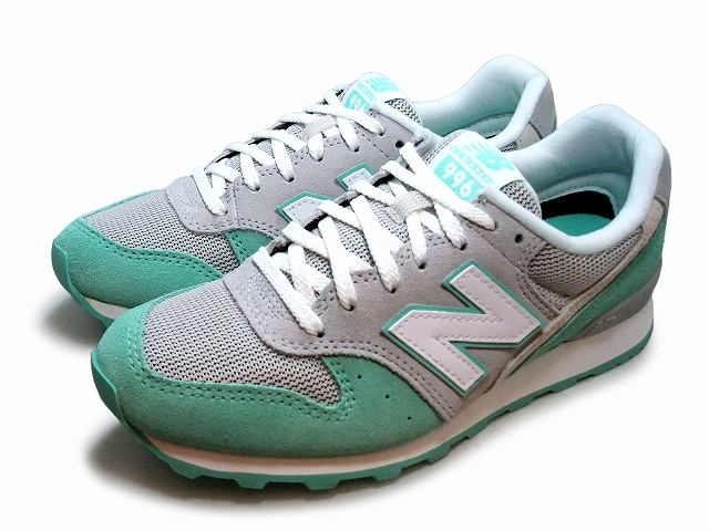 reputable site 702ef 72f78 New Balance 996 men's lady's WR 996 KM2 new balance mint / gray 2016 spring  and summer