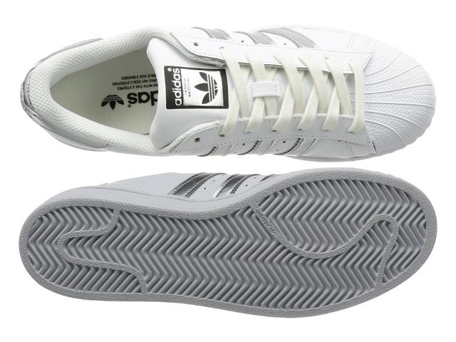 Cara a cara Rakuten mercado global: Adidas Superstar Lady blanco