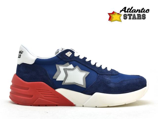 アトランティックスターズ メンズ Atrantic STARS MARS BM-SN01 ブルー レッド スニーカー 【送料無料】