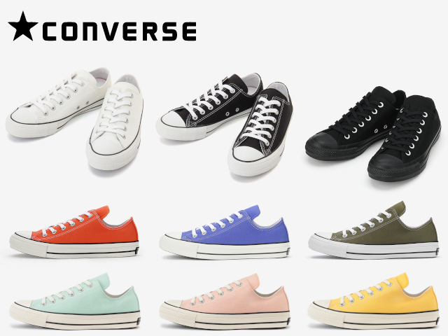 961319fe87aa Face to Face  CONVERSE ALL STAR 100 COLORS OX カラーズオックス of ...
