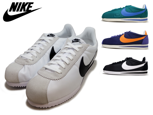 temperament shoes look out for hot products Nike Cortez nylon NIKE CLASSIC CORTEZ NYLON 4 colors 807472 100 341 483  011/DK