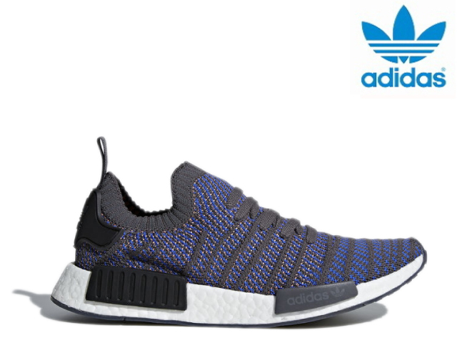 822940cdd5efa Adidas N M D NMD R1 STLT PK men black gray ADIDAS sneakers easy boost