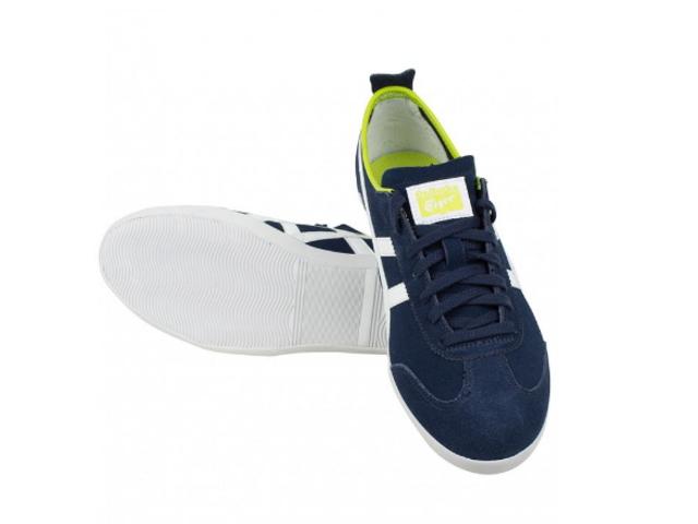 鬼冢虎墨西哥 66 运动鞋男装鬼冢虎墨西哥 66 硫化 D2Q4L.5099 海军/关白深蓝 / 白色运动鞋