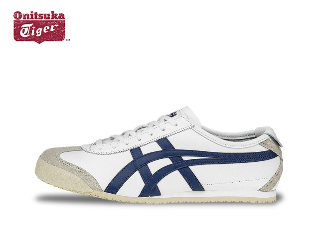 sports shoes 12954 6c4fe Onitsuka Tiger Mexico 66 sneaker mens Onitsuka Tiger MEXICO 66 D4J2L.0158  WHITE/POSEIDON white / Poseidon sneaker
