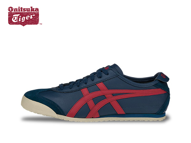 sports shoes 55af3 f837a Onitsuka Tiger Mexico 66 sneaker mens Onitsuka Tiger MEXICO 66 D4J2L.5823  POSEIDON/CLASSIC RED Poseidon / red sneaker