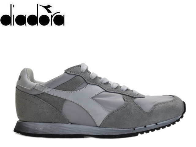 designer fashion f4ee3 09a69 Deer gong heritage sneakers men DIADORA TRIDENT NY.S.W 157083 C4621 gray  sneaker