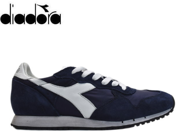 differently af48d f895c Deer gong heritage sneakers men DIADORA TRIDENT NY.S.W 157083 C4623 navy  sneaker