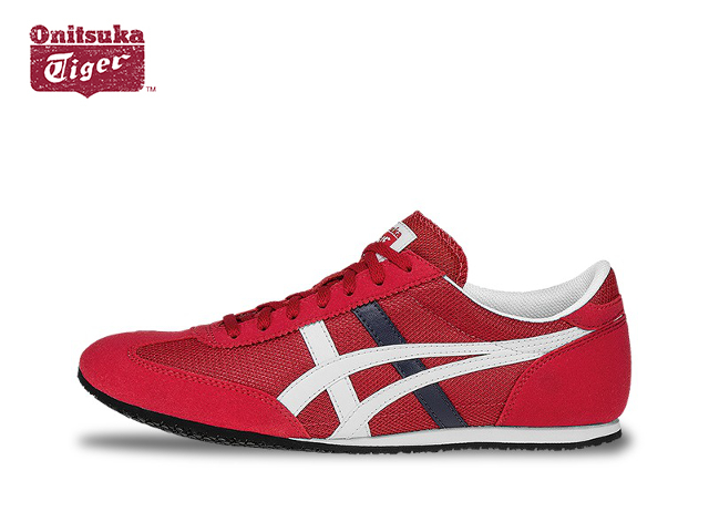 Shopping 209395 Onitsuka Tiger By Asics Machu Racer Men Red White Shoes