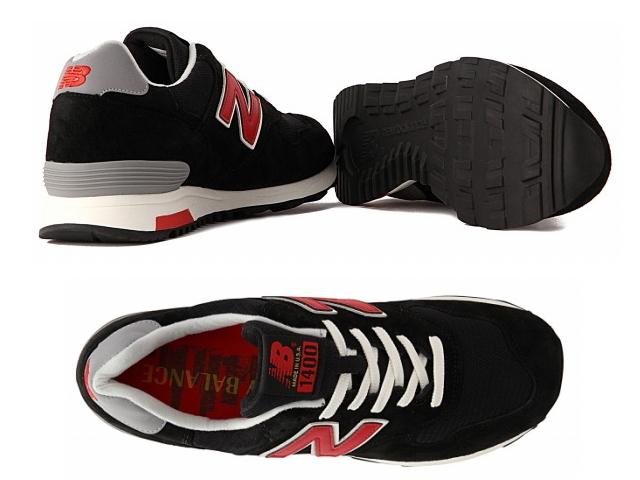 新平衡 1400年黑新平衡 M1400 HB newbalance 黑色 / 红色美国制造男式女式运动鞋